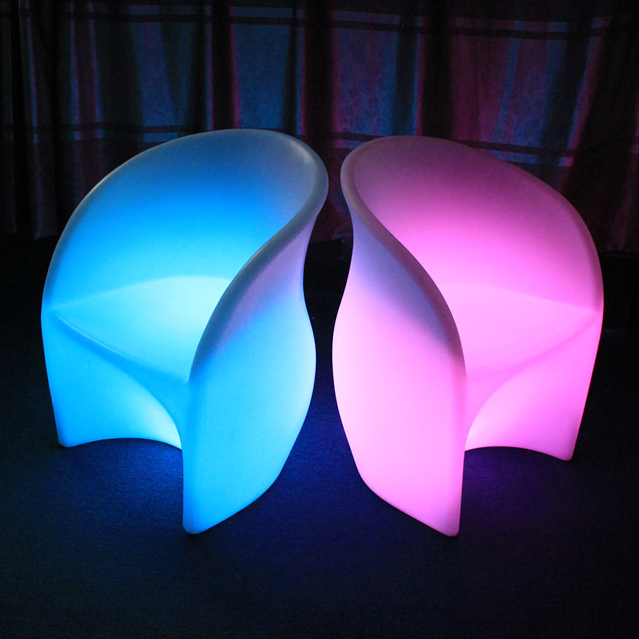 Curved LED Chairs