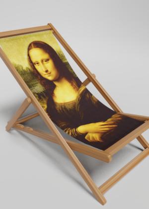 Mona Lisa Deckchair