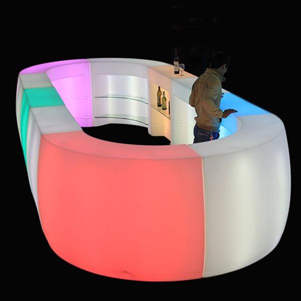 Curved Bar Piece