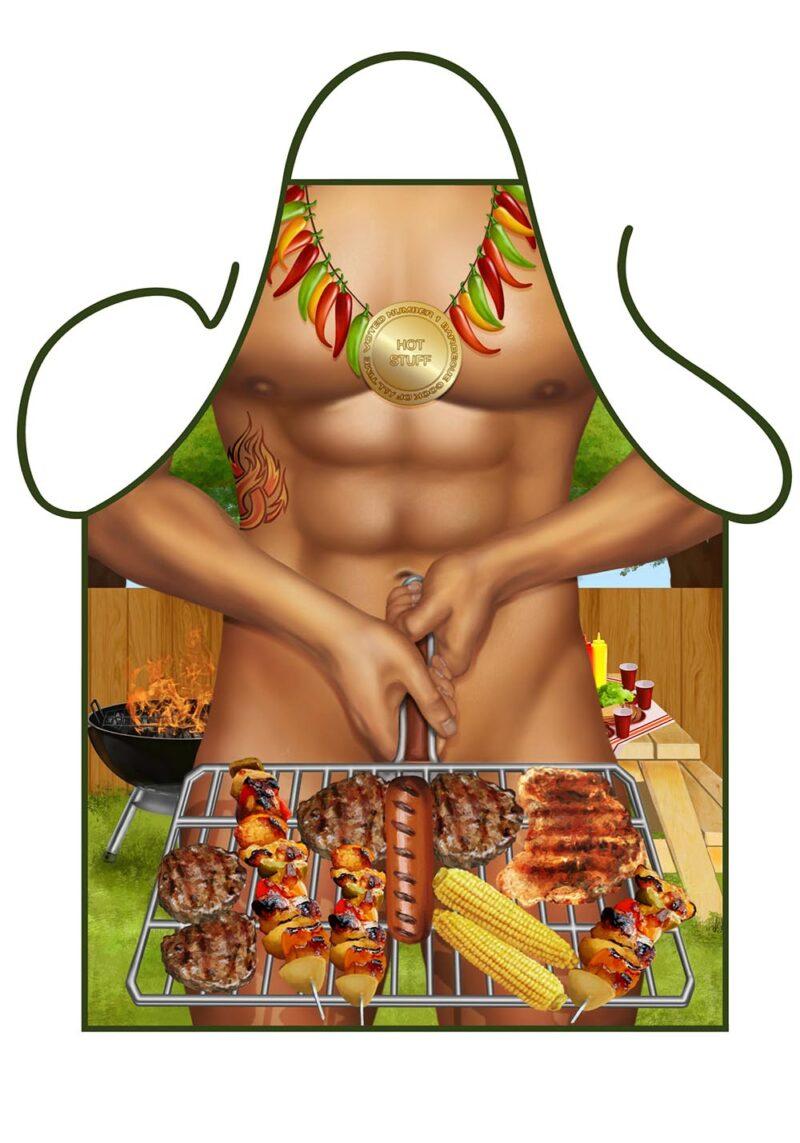 BBQ Man Apron