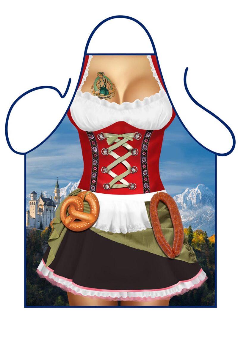 Bavarian Oktoberfest Woman Apron