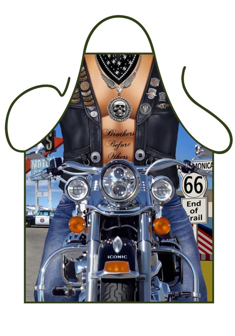 Biker Man Apron