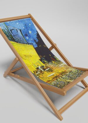 Cafe Terrace At Night deckchair
