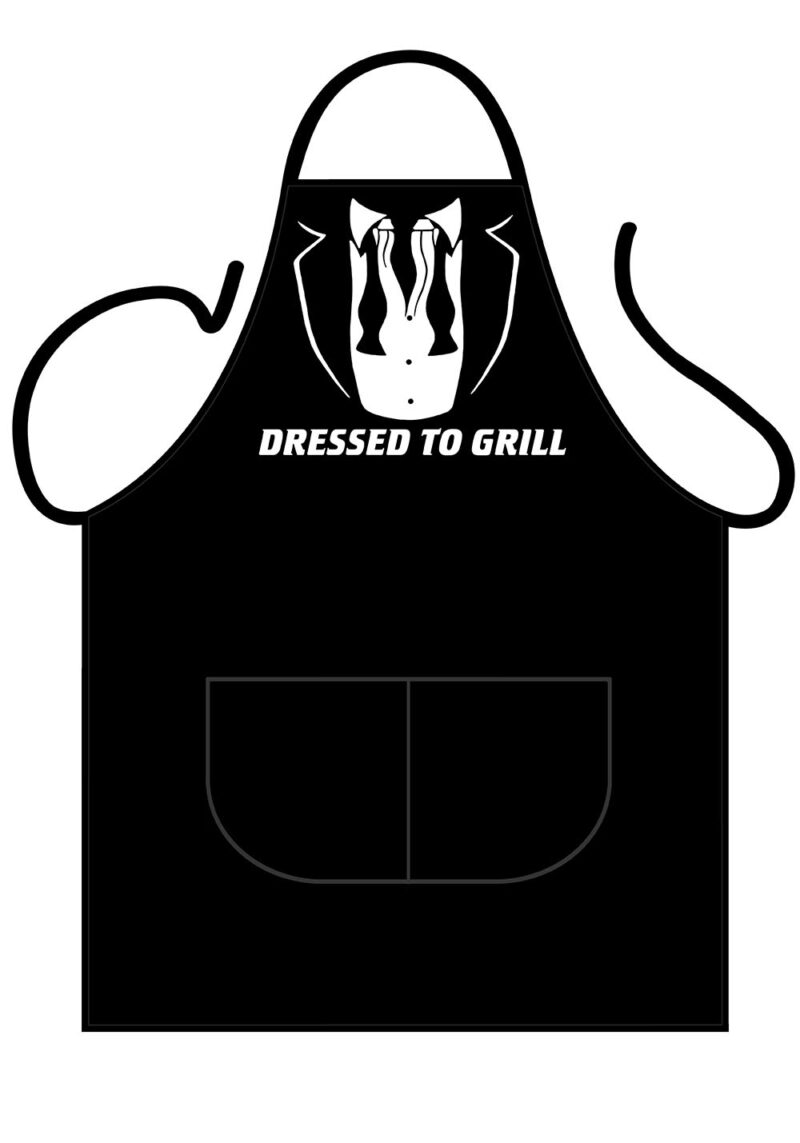 Dressed To Grill Apron