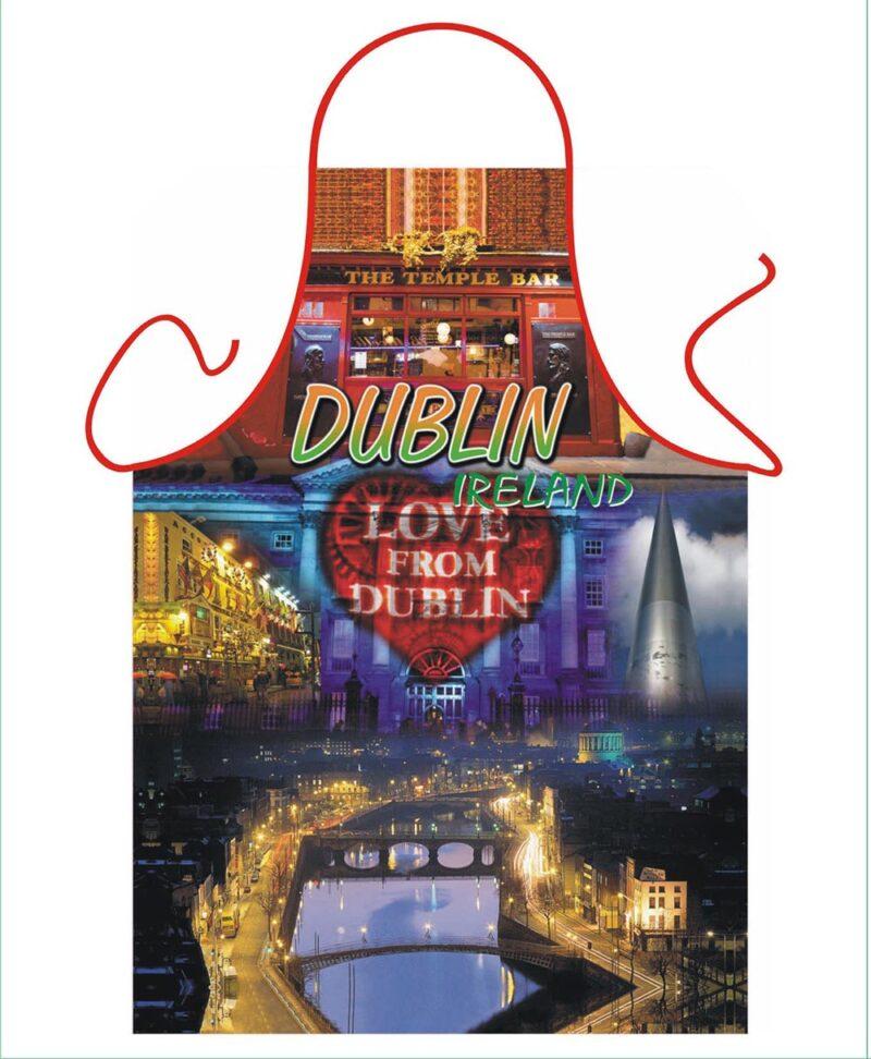 Dublin scenes Apron
