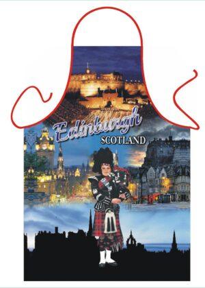 Edinburgh Piper Apron