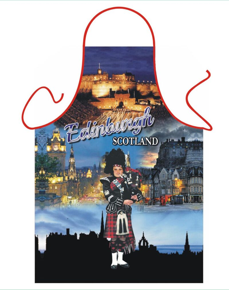Edinburgh Piper Apron