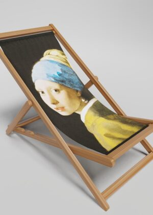 Girl With Pearl Earring deckchair