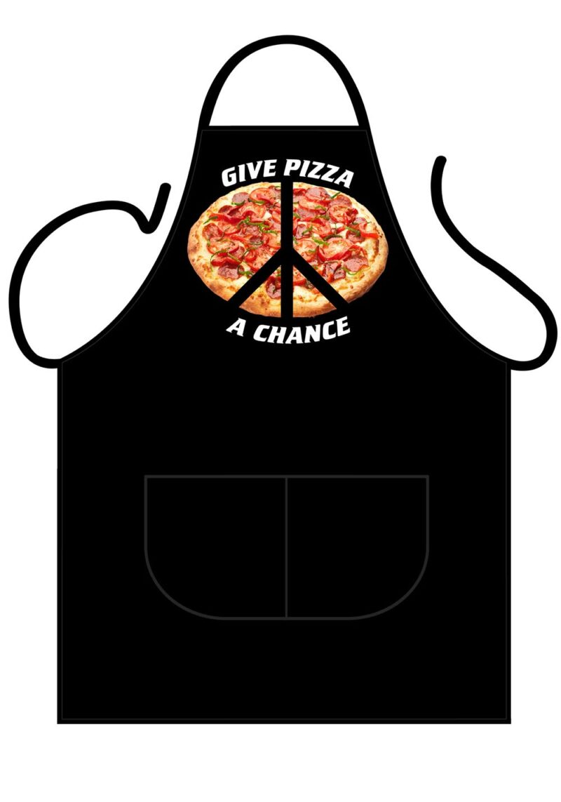 Give Pizza A Chance Apron