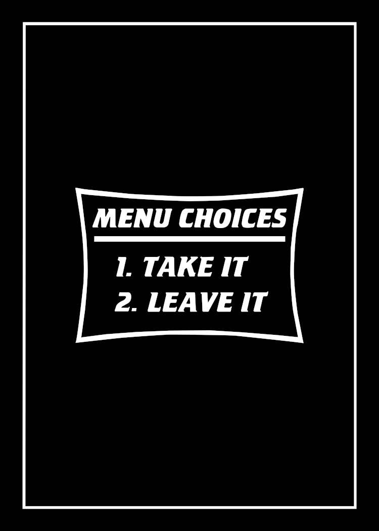 Menu Choices & BBQ Rules For Men tea towel