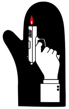 Oven Glove Flame Gun