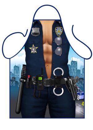 Police Man Apron