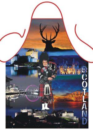 Scottish Piper Apron