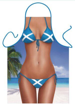 Saltire Bikini Apron