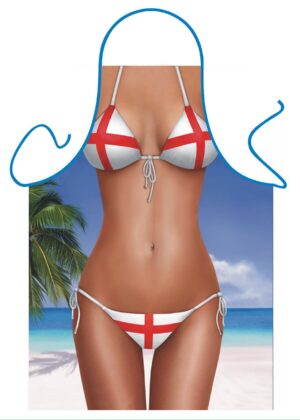 England Bikini Apron
