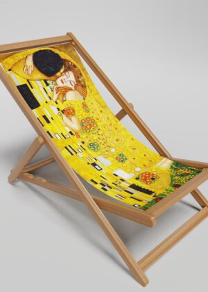 The Kiss deckchair