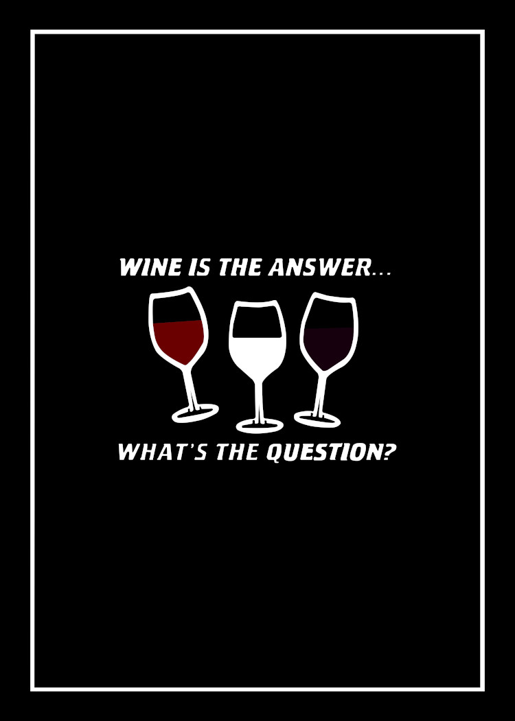 Wine Is The Answer & BBQ Rules For Men tea towel