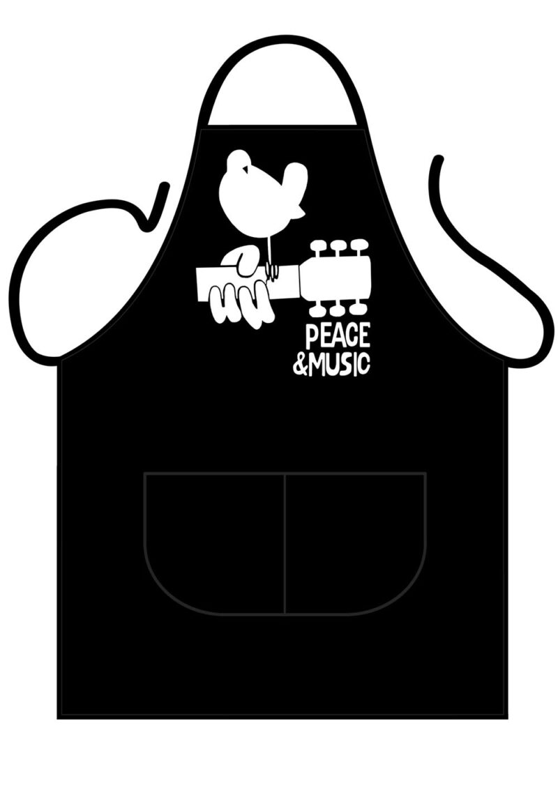 Peace and Music Apron