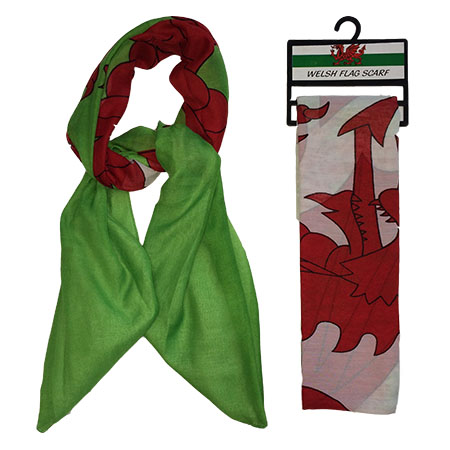 Welsh Flag Scarf
