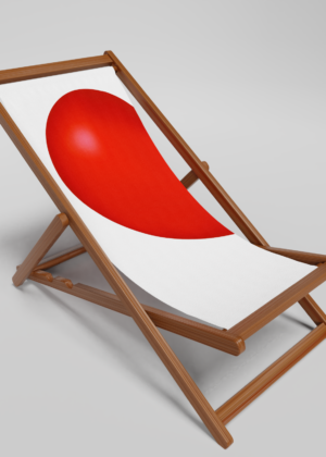 Left Heart Deck Chair