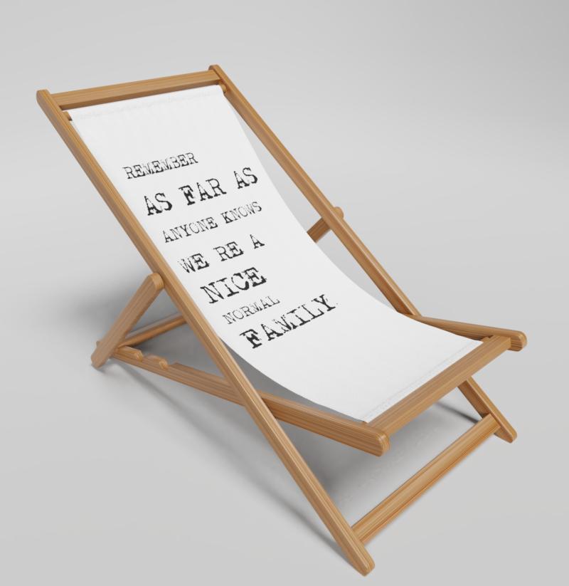 Nice Family Deckchair