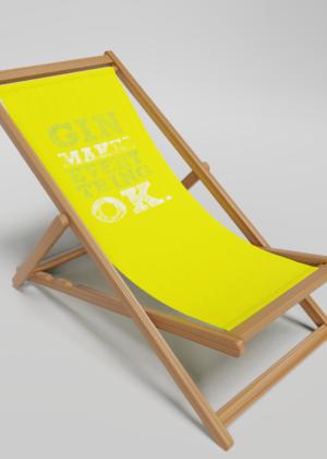 GIn deckchair
