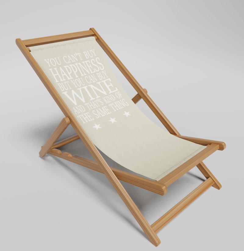 Wine Deckchair