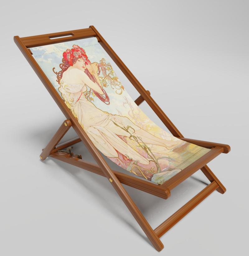 Summer deck Chair