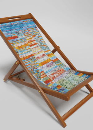 Highways & Byways Klee Deckchair