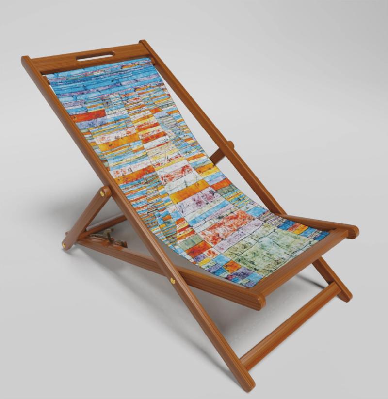 Highways & Byways Klee Deckchair