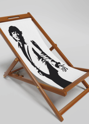 Mick Jagger Deck Chair