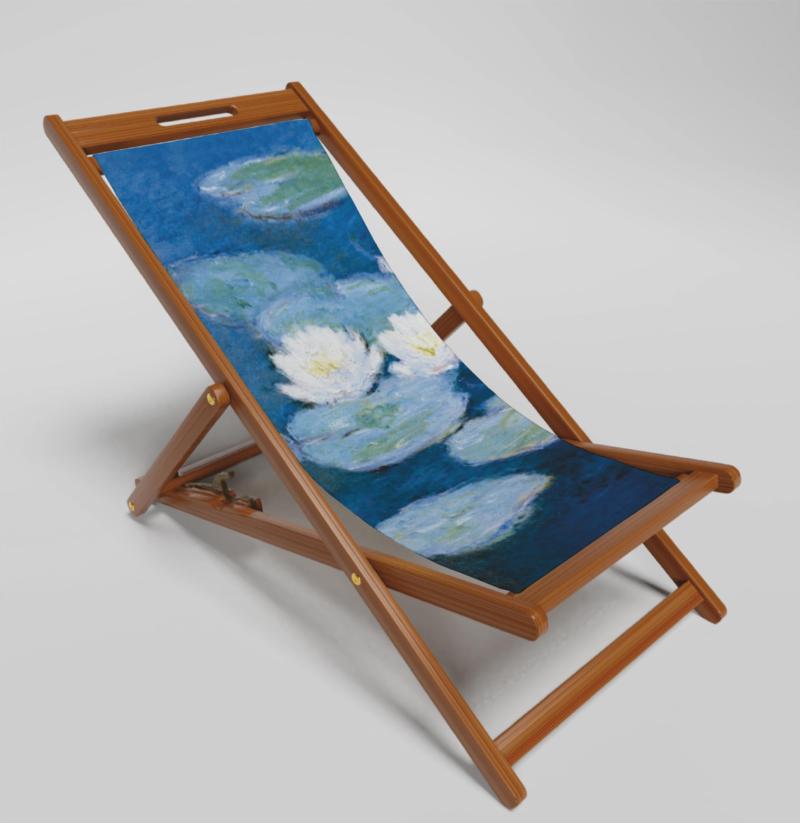 Water Lillies Deckchair